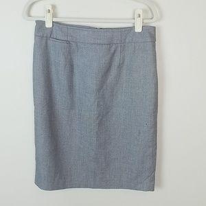 🍄Calvin Klein grey work career pencil skirt 8